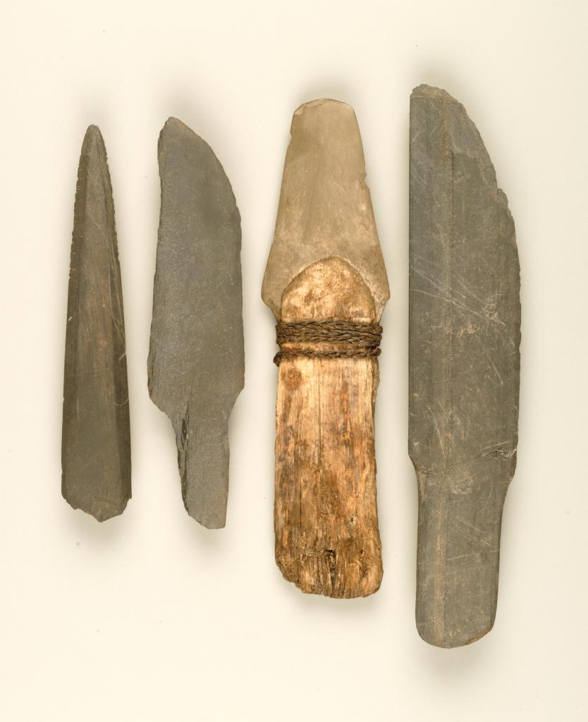 Черешковые сланцевые ножи