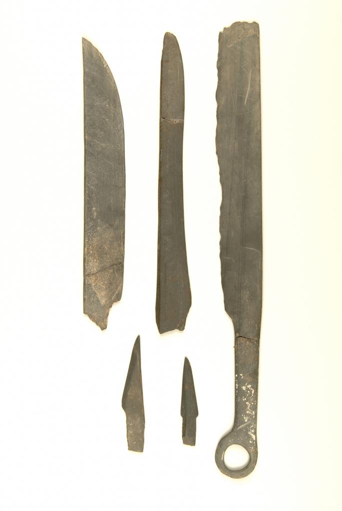 Ножи с поселения Пайпельгак