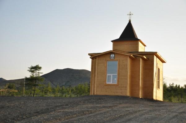 Храм в посёлке Депутатский